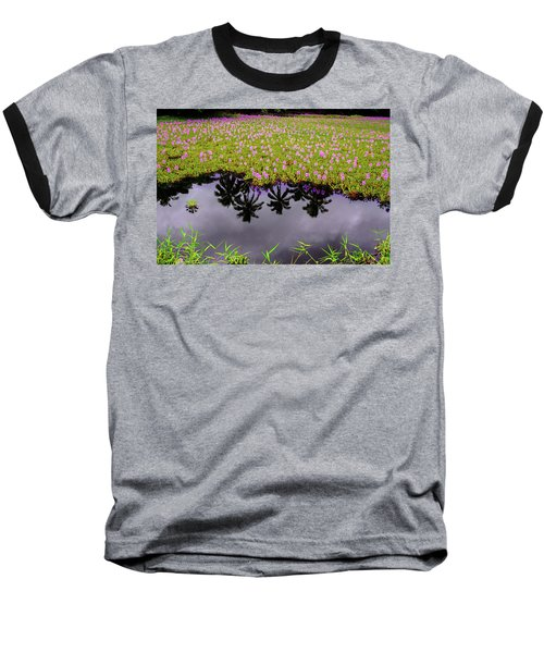 Colors On The Water Baseball T-Shirt