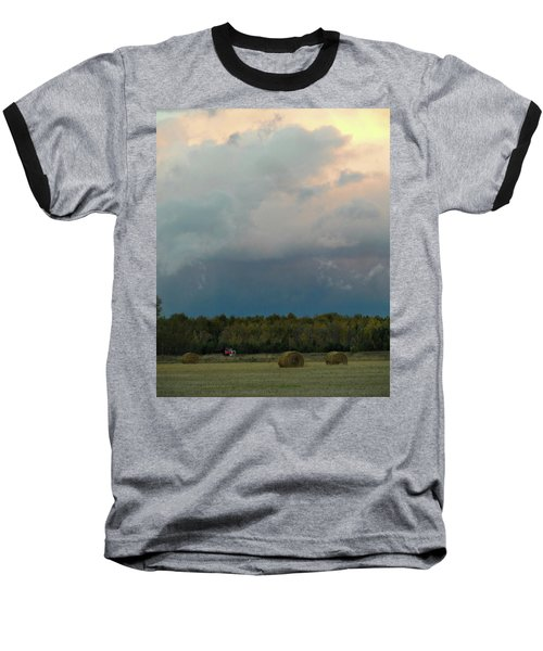 Colossak Country Clouds Baseball T-Shirt