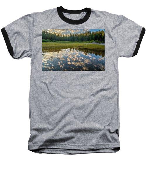 Colter Bay Reflections Baseball T-Shirt