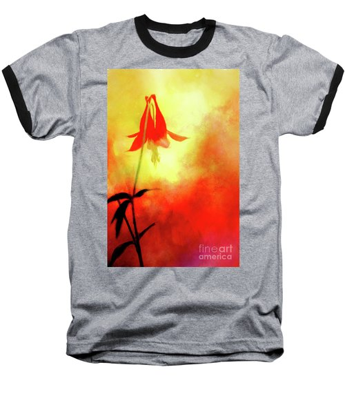 Columbine Sunset Baseball T-Shirt