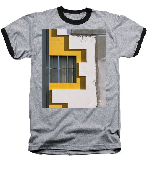 Construction Abstract Baseball T-Shirt
