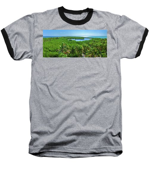 Contoy Island Baseball T-Shirt