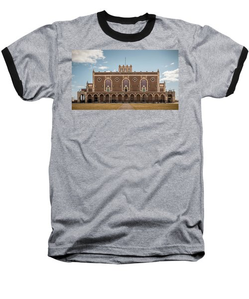 Convention Hall Baseball T-Shirt
