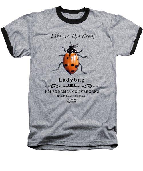 Convergens Ladybug Baseball T-Shirt