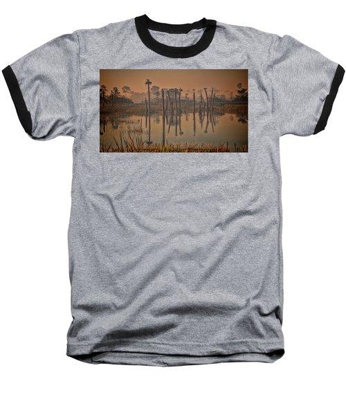 Cool Day At Viera Wetlands Baseball T-Shirt