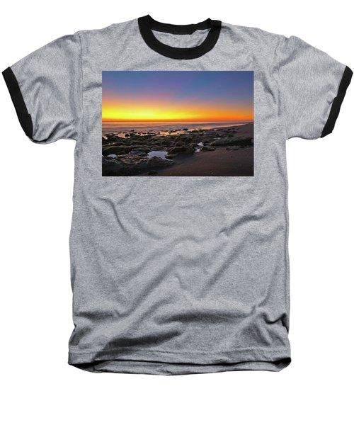 Coral Cove Nautical Twilight Baseball T-Shirt
