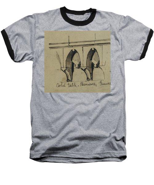 Corbel Table - Benieves, France Baseball T-Shirt