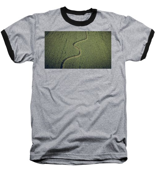 Corn Field Baseball T-Shirt