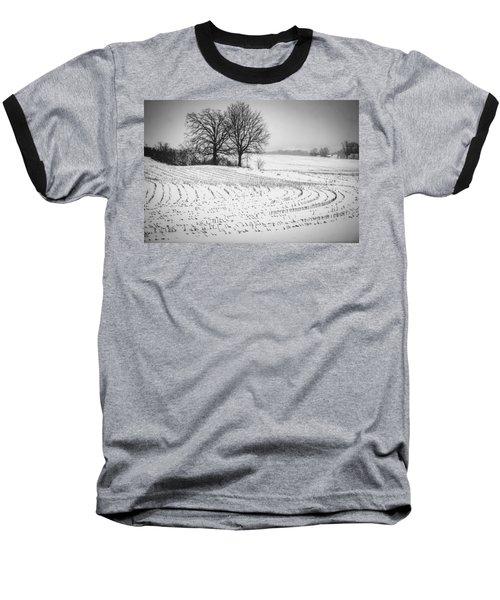 Corn Snow Baseball T-Shirt