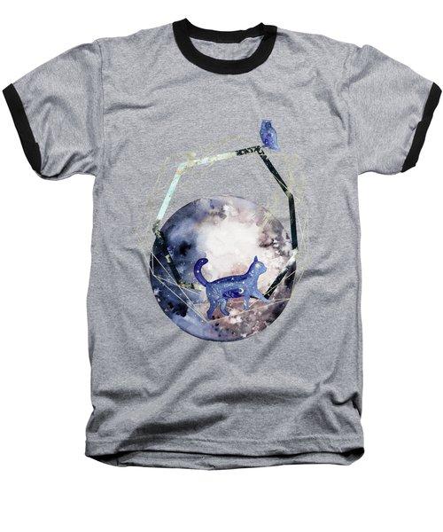 Cosmic Portal Baseball T-Shirt