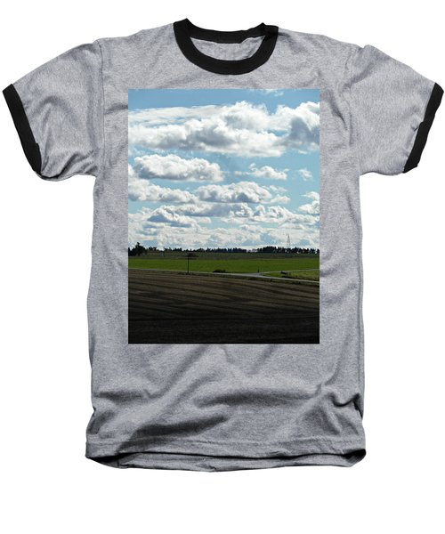 Country Autumn Curves 4 Baseball T-Shirt