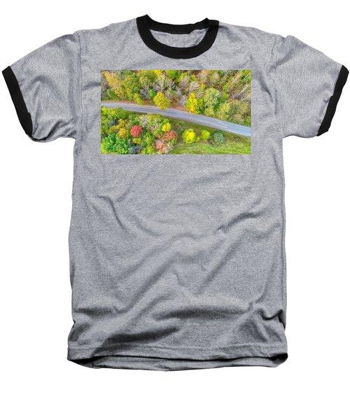 Country Path Baseball T-Shirt
