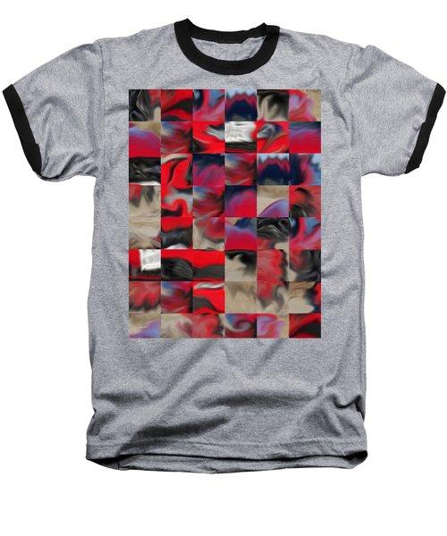 Coupe Rouge Baseball T-Shirt