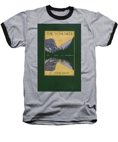Cover Design For The Yosemite Baseball T-Shirt