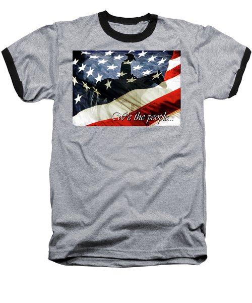 Cowboy Patriot Baseball T-Shirt