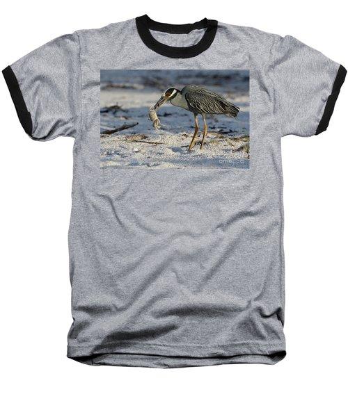 Crab For Breakfast Baseball T-Shirt