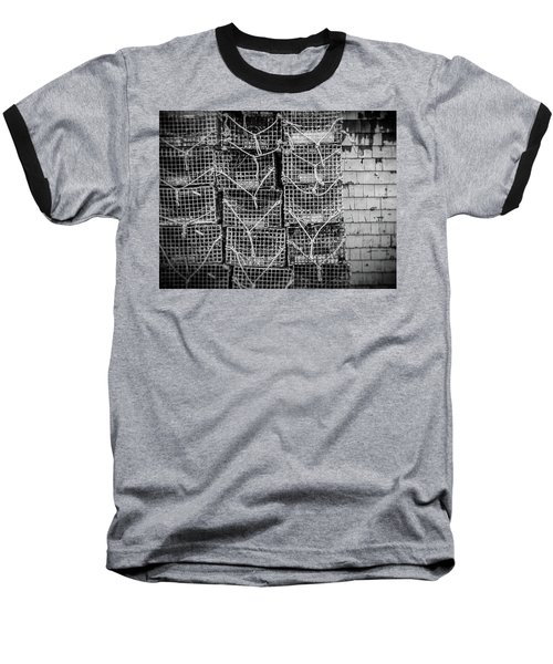 Crab Traps Baseball T-Shirt