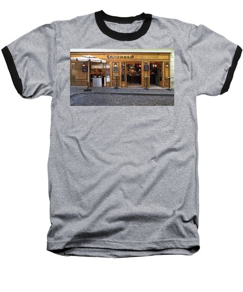 Crepes In Monmartre Baseball T-Shirt