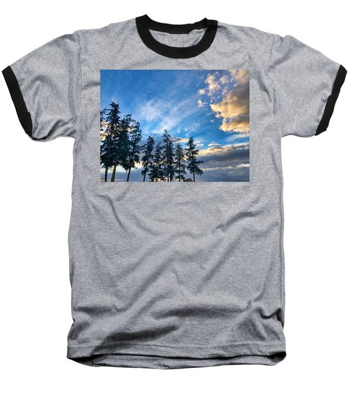 Crisp Skies Baseball T-Shirt