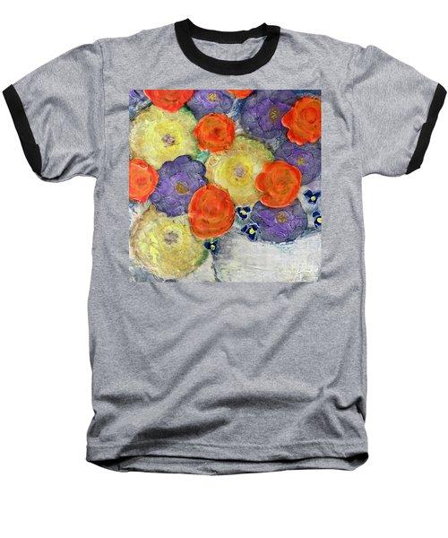 Crochet Bouquet Baseball T-Shirt