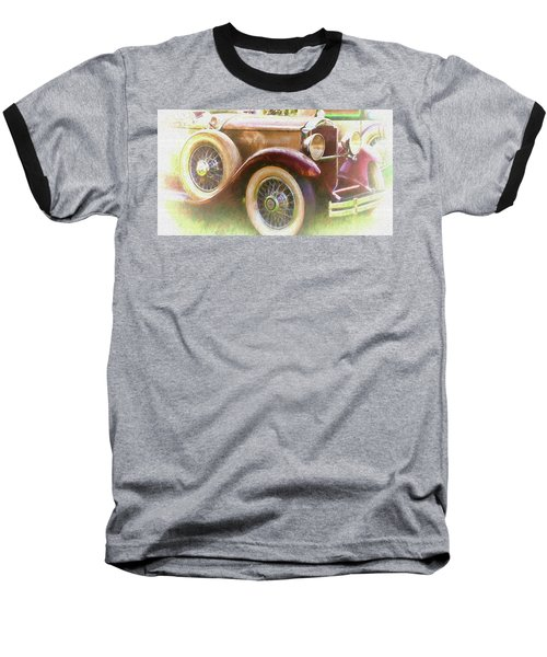 Cruise Into Tomorrow With Yesterday's Wheels Baseball T-Shirt