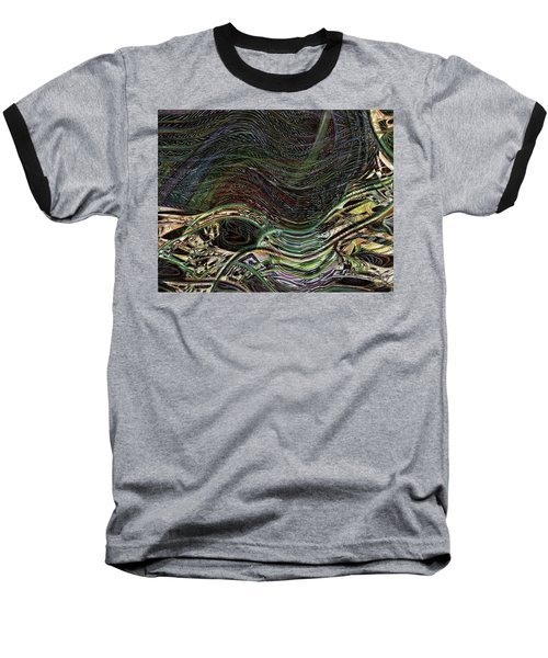 Dark Rainbow Baseball T-Shirt