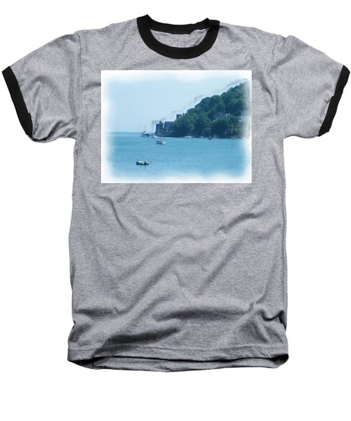 Dartmouth Castle Painting Baseball T-Shirt