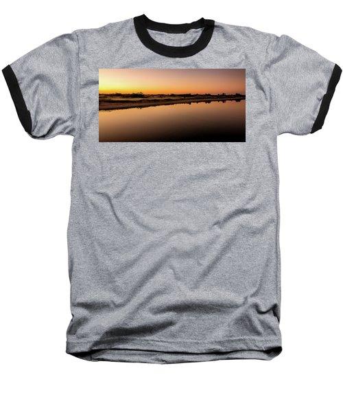 Dawn Light, Ogunquit River Baseball T-Shirt