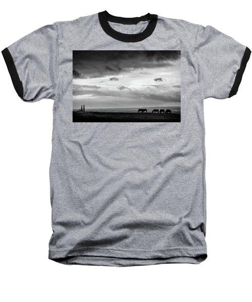 Days End At Hvammstangi Baseball T-Shirt