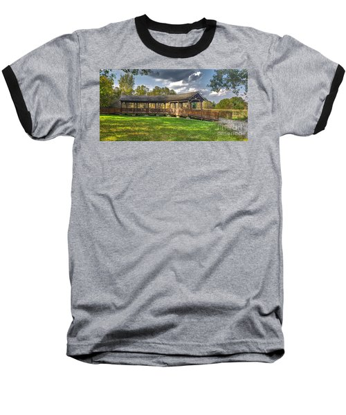 Deck At Pickerington Ponds Baseball T-Shirt