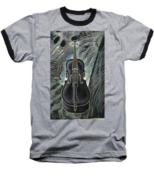 Deep Cello Baseball T-Shirt