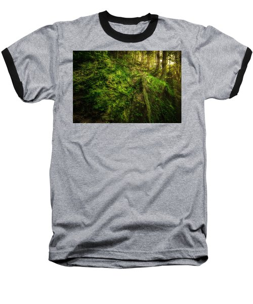 Baseball T-Shirt featuring the photograph Deep In The Forests Of Bavaria by David Morefield