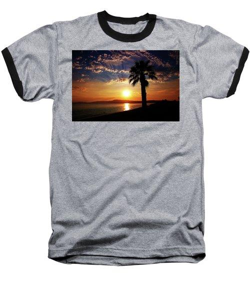 Baseball T-Shirt featuring the photograph Deep Serene  by Milena Ilieva