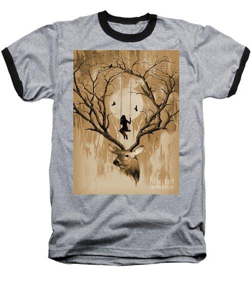 Deer Dream 01 Baseball T-Shirt