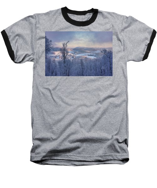 Deer Valley Winter View Baseball T-Shirt