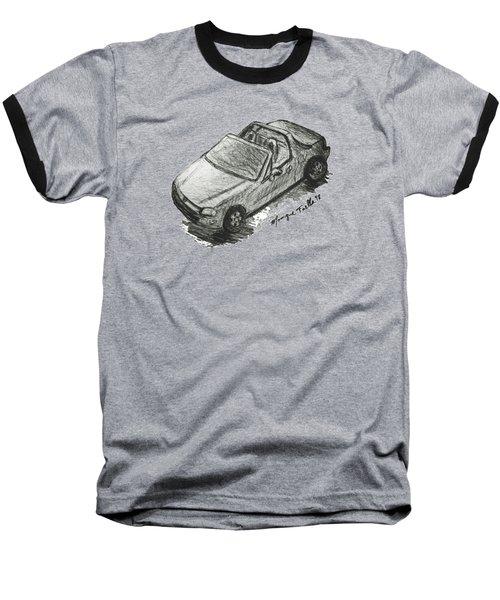 Del Sol Illustration Baseball T-Shirt