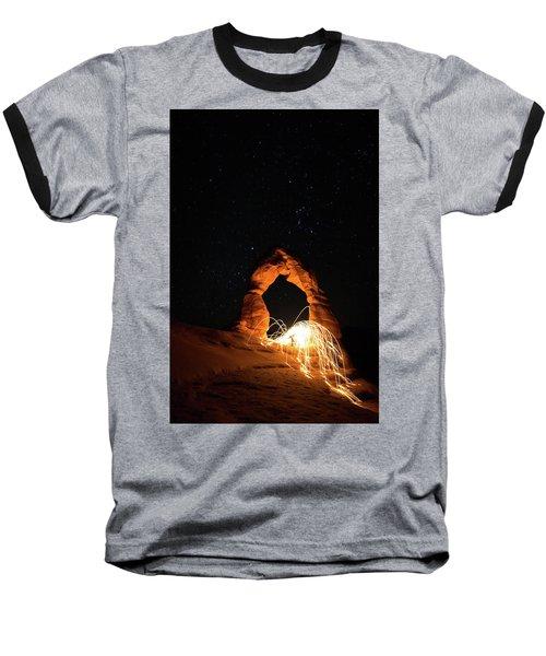 Delicate Arch Steel Wool Baseball T-Shirt