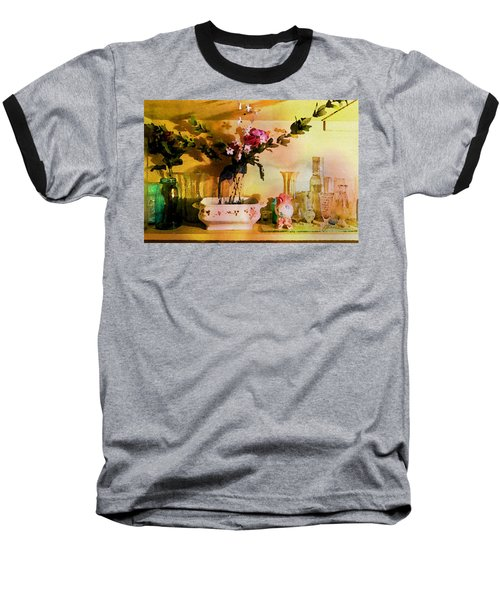 Delicate Flowers Baseball T-Shirt