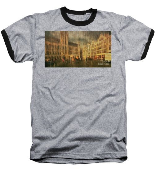 Baseball T-Shirt featuring the photograph Deluge by Leigh Kemp