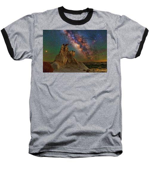 Desert Castle Baseball T-Shirt