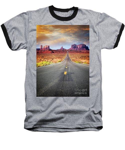 Desert Drive Baseball T-Shirt