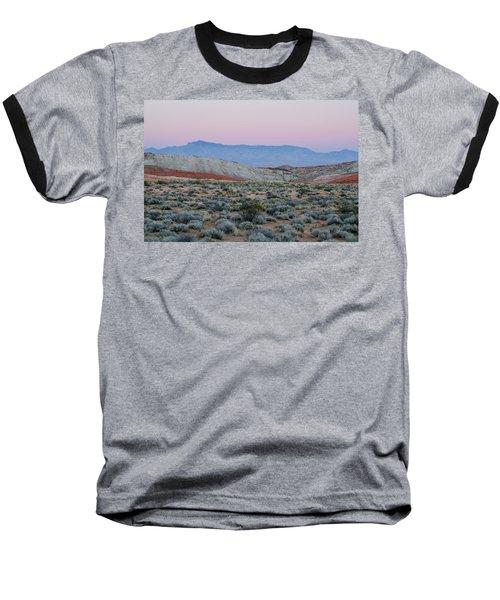 Baseball T-Shirt featuring the photograph Desert On Fire No.2 by Margaret Pitcher