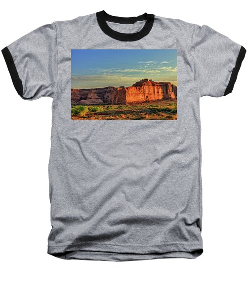 Desert Sunrise In Color Baseball T-Shirt