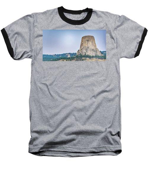 Devils Tower Baseball T-Shirt