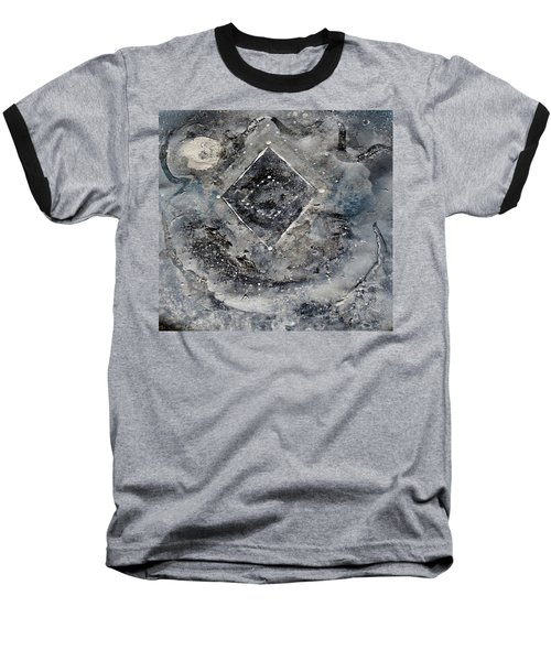 Baseball T-Shirt featuring the painting Diamond Apparition  by 'REA' Gallery