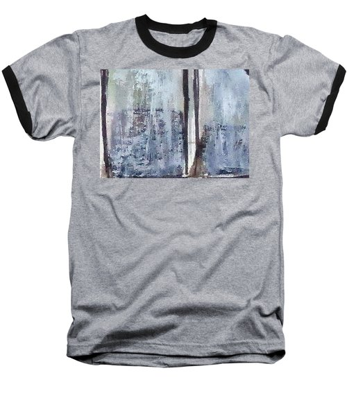 Digital Abstract N13. Baseball T-Shirt