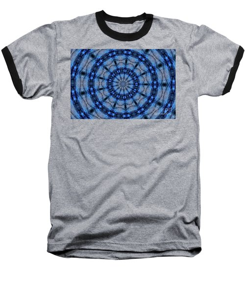 Blue Jay Mandala Baseball T-Shirt