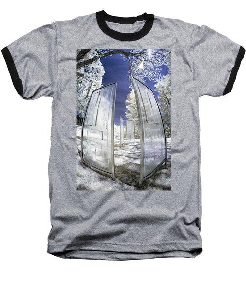 Dimensional Doors Baseball T-Shirt