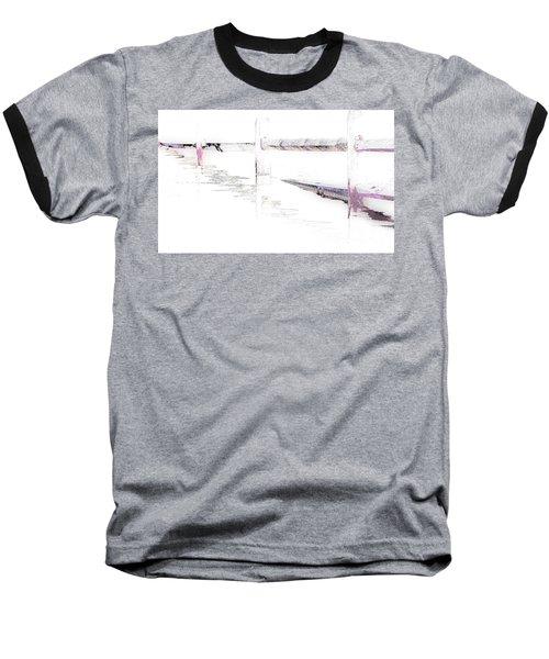 Disappearing Fence Baseball T-Shirt