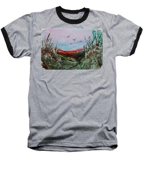 Disappearing Pathway Baseball T-Shirt